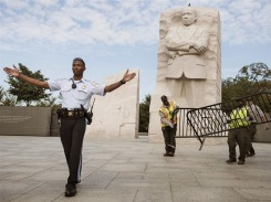 Taxpayers sent to back of the bus as feds barricade MLK monument.
